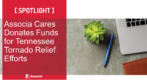 Associa Cares Donates Funds for Tennessee Tornado Relief Efforts