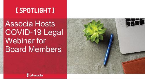 Associa Hosts COVID-19 Legal Webinar for Board Members