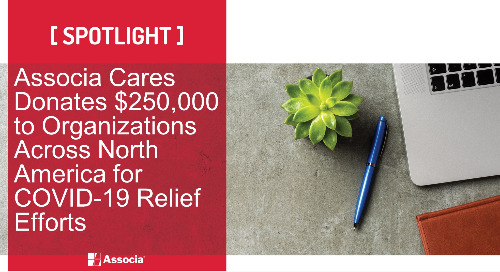 Associa Cares Donates $250,000 to Organizations Across North America for COVID-19 Relief Efforts