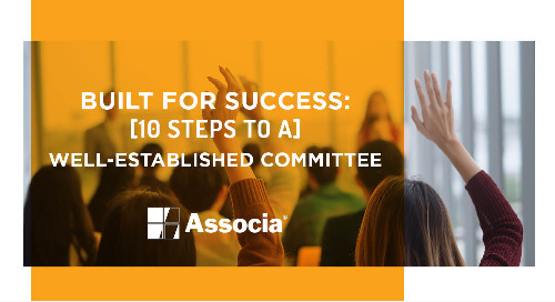 Built for Success: 10 Steps to a Well-Established Committee