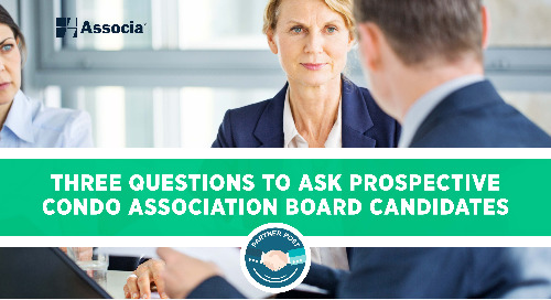 Partner Post: Three Questions to ask Prospective Condo Association Board Candidates