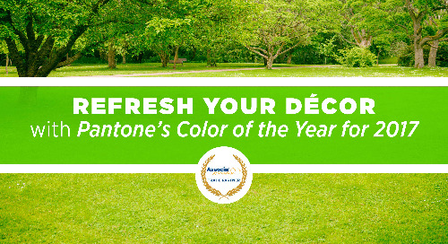 Partner Post: Refresh Your Décor with Pantone's Color of the Year for 2017