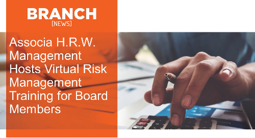 Associa H.R.W. Management Hosts Virtual Risk Management Training for Board Members
