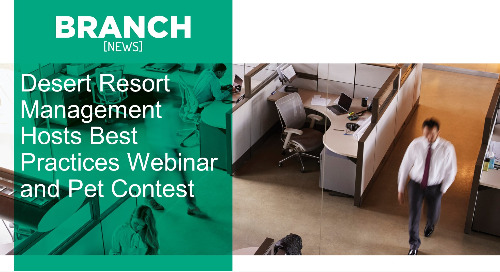 Desert Resort Management Hosts Best Practices Webinar and Pet Contest