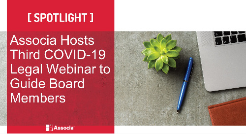 Associa Hosts Third COVID-19 Legal Webinar to Guide Board Members