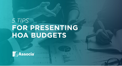 5 Tips for Presenting HOA Budgets