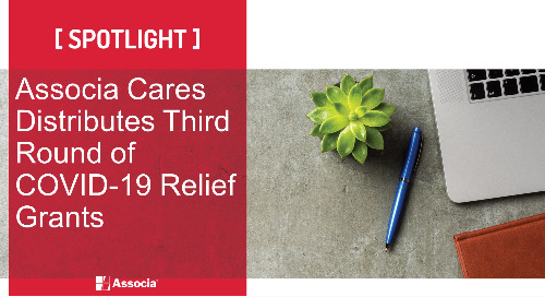 Associa Cares Distributes Third Round of COVID-19 Relief Grants