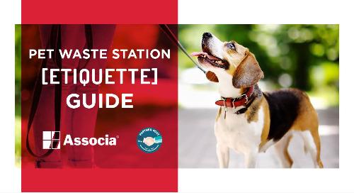 Partner Post: Pet Waste Station Etiquette Guide