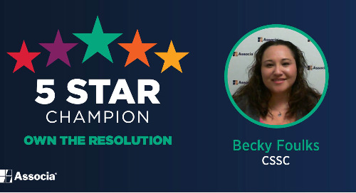 5 Star Champion: Becky Foulks