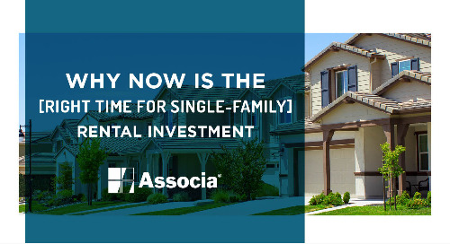 Why Now is the Right Time for Single-Family Rental Investment