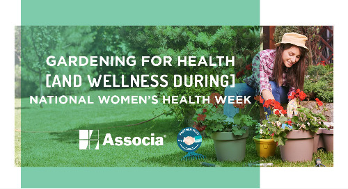 Partner Post: Gardening for Health and Wellness During National Women's Health Week
