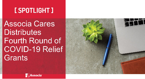 Associa Cares Distributes Fourth Round of COVID-19 Relief Grants