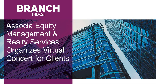 Associa Equity Management & Realty Services Organizes Virtual Concert for Clients