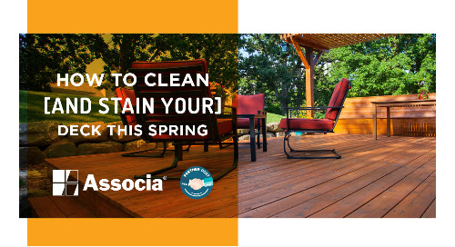 Partner Post: How to Clean and Stain Your Deck this Spring