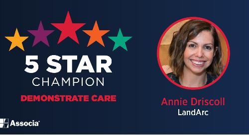 5 Star Champion: Annie Driscoll