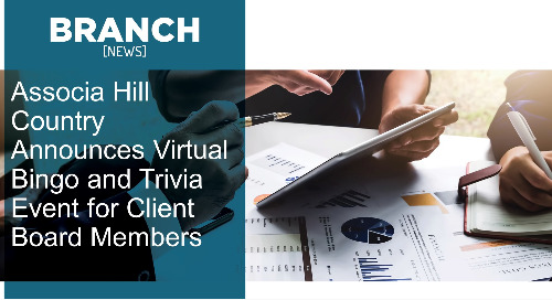 Associa Hill Country Announces Virtual Bingo and Trivia Event for Client Board Members