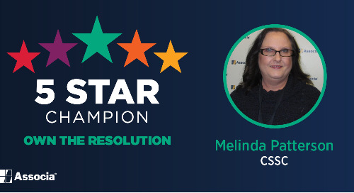 5 Star Champion: Melinda Patterson