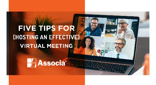 Five Tips for Hosting an Effective Virtual Meeting