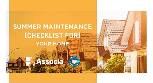 Partner Post: Summer Maintenance Checklist for Your Home