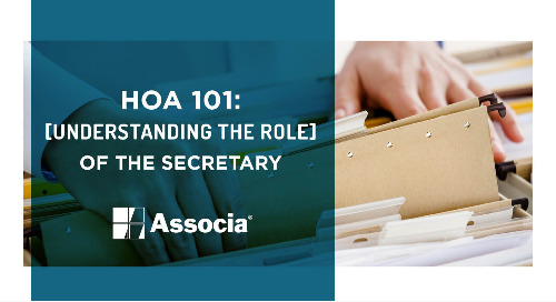 HOA 101: Understanding the Role of the Board Secretary