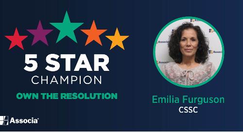 5 Star Champion: Emilia Ferguson