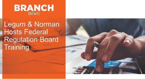 Legum & Norman Hosts Federal Regulation Board Training