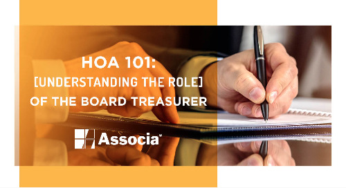 HOA 101: Understanding the Role of the Board Treasurer