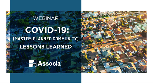 COVID-19 Webinar - Master-Planned Community: Lessons Learned