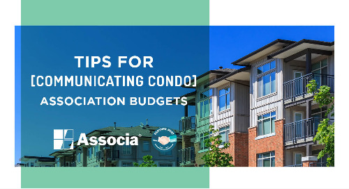 Partner Post: Tips for Communicating Condo Association Budgets