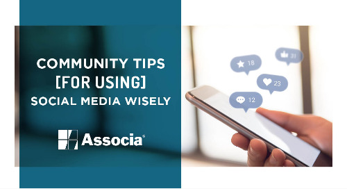 Community Tips for Using Social Media Wisely