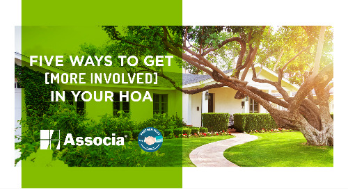 Partner Post: Five Ways To Get More Involved In Your HOA