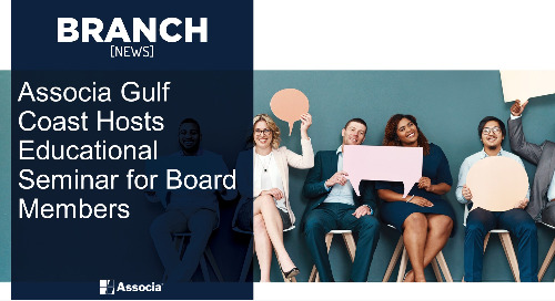 Associa Gulf Coast Hosts Educational Seminar for Board Members