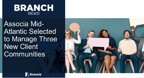 Associa Mid-Atlantic Selected to Manage Three New Client Communities