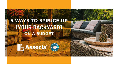 Partner Post: 5 Ways to Spruce Up Your Backyard on a Budget