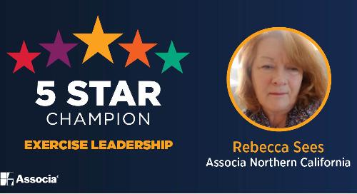 5 Star Champion: Rebecca Sees