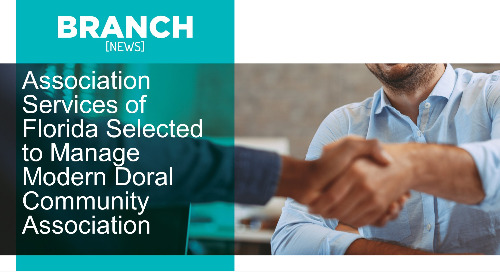 Association Services of Florida Selected to Manage Modern Doral Community Association