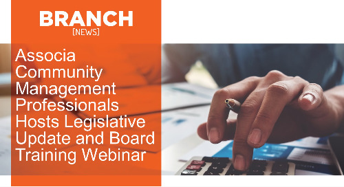 Associa Community Management Professionals Hosts Legislative Update and Board Training Webinar