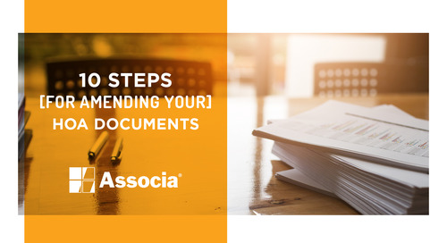 10 Steps for Amending Your HOA Documents