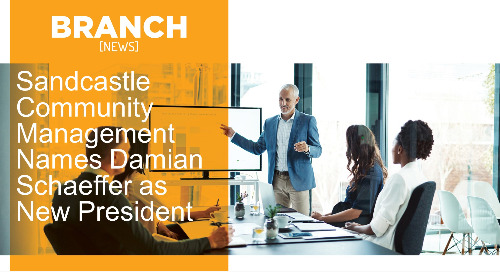 Sandcastle Community Management Names Damian Schaeffer as New President