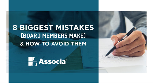 Featured Ebook: 8 Biggest Mistakes Board Members Make & How to Avoid Them