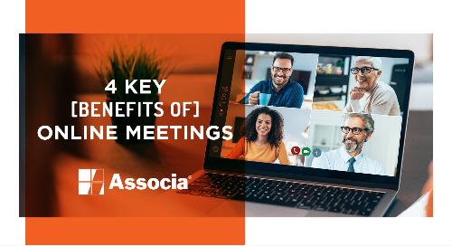 4 Key Benefits of Online Meetings