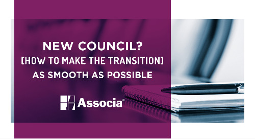 New Council? How to Make the Transition as Smooth as Possible