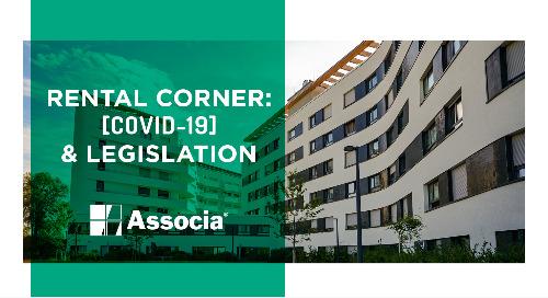 Rental Corner: COVID-19 & Legislation
