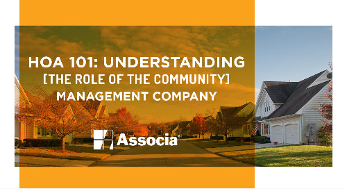 HOA 101: Understanding the Role of the Community Management Company