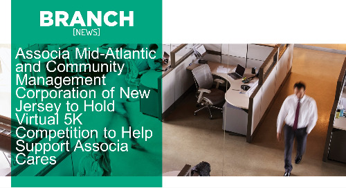 Associa Mid-Atlantic and Community Management Corporation of New Jersey to Hold Virtual 5K Competition to Help Support Associa Cares