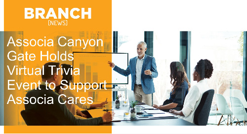 Associa Canyon Gate Holds Virtual Trivia Event to Support Associa Cares