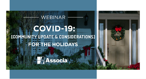COVID-19 Webinar - Community Update & Considerations for the Holidays