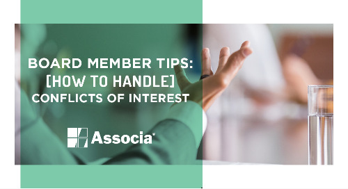 Board Member Tips: How to Handle Conflicts of Interest