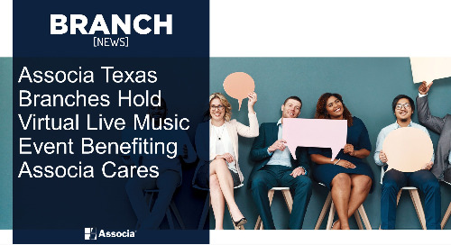 Associa Texas Branches Hold Virtual Live Music Event Benefiting Associa Cares