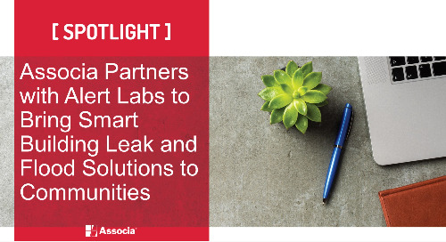 Associa Partners with Alert Labs to Bring Smart Building Leak and Flood Solutions to Communities